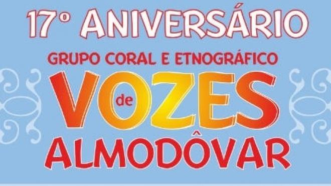 """""""Vozes de Almodôvar"""" comemoram aniversário"""