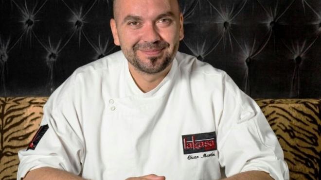 Chef César Martín fecha Terras sem Sombra
