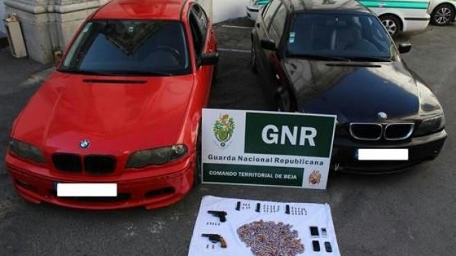 GNR prende 4 indivíduos por tráfico de estupefacientes
