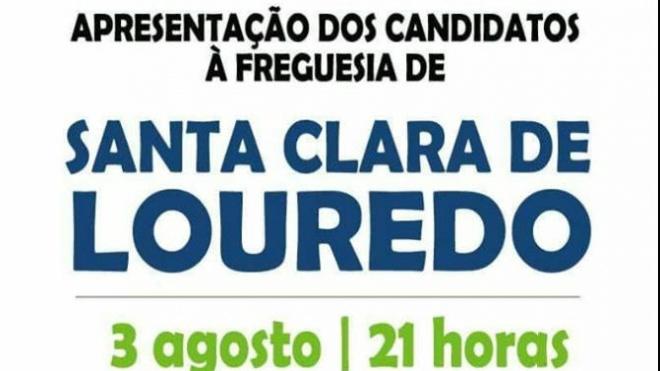 CDU apresenta lista à Freguesia de Santa Clara de Louredo