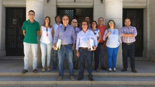 "Candidatura ""PS/Somos Beja"" entrega listas no Tribunal"