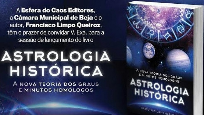 """Beja recebe lançamento do livro """"Astrologia Histórica"""""""