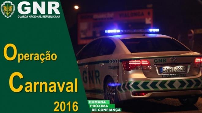 """GNR na estrada com Operação """"Carnaval 2016"""""""