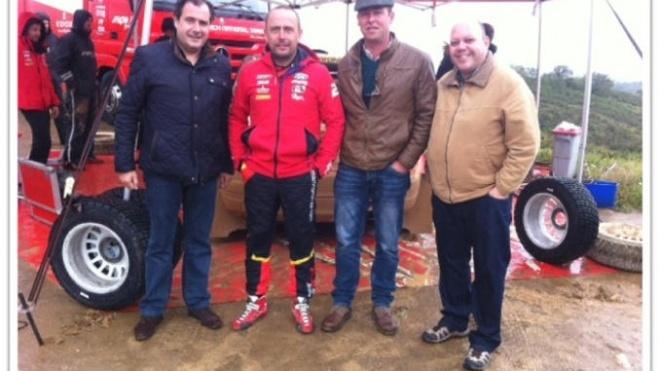 Mário Simões visitou troços do Rally de Portugal