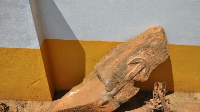 Estela da Idade do Bronze descoberta em Santa Vitória