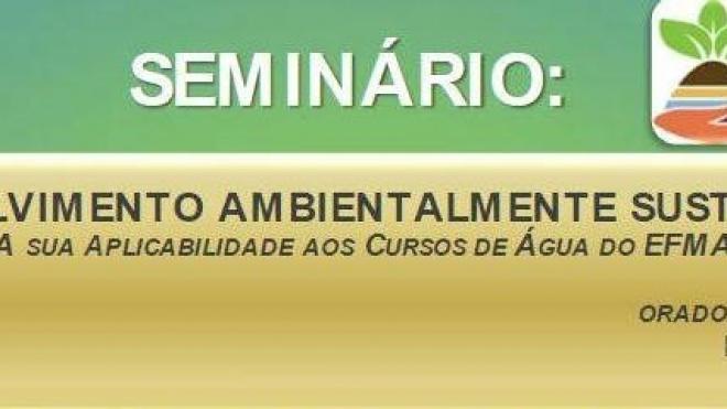 Seminário sobre desenvolvimento ambientalmente sustentável