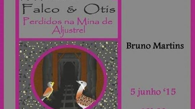 """Novo livro da colecção """"As aventuras de Falco & Otis"""""""