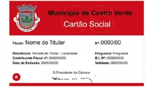 Cartão Social apoia famílias de Castro Verde