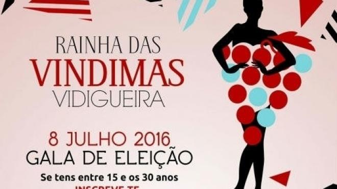 Vidigueira elege Rainha das Vindimas 2016