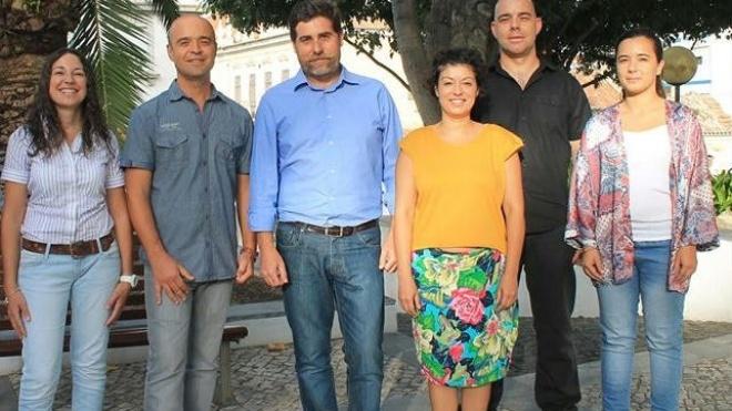 Candidatos da CDU com atividades de contacto
