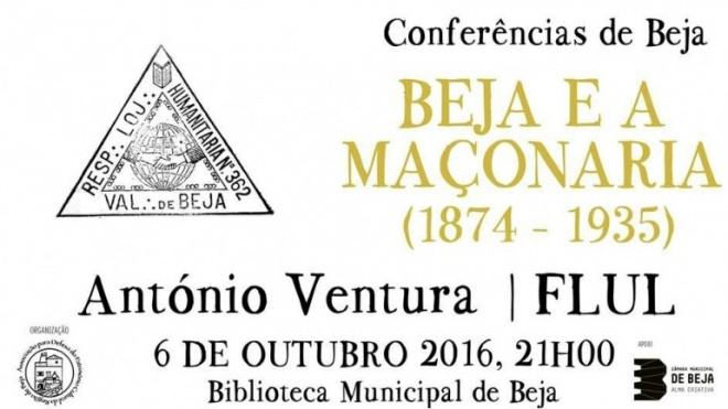 "Conferência ""Beja e a Maçonaria"""