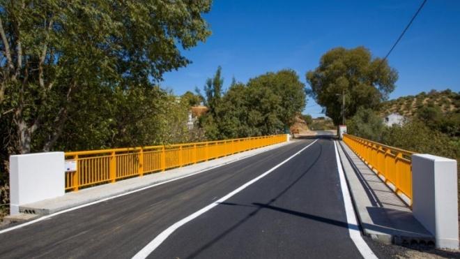 Ponte do Coronheiro com reabilitação concluída