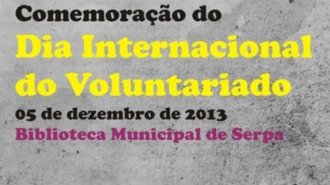 Serpa comemora Dia Internacional do Voluntariado