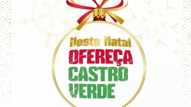 Castro Verde lança Campanha de Natal para dinamizar comércio local