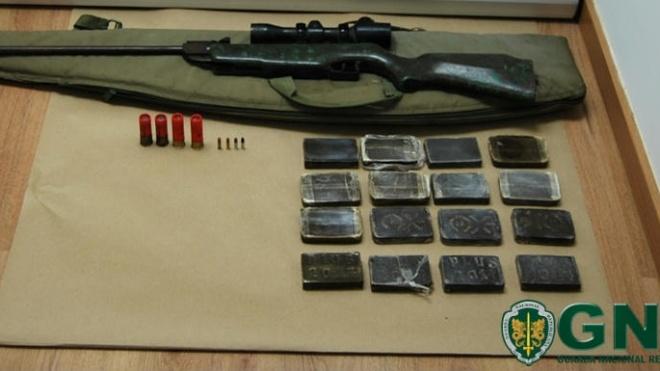 Indivíduo detido em Beja por posse de mais de 3mil doses de haxixe