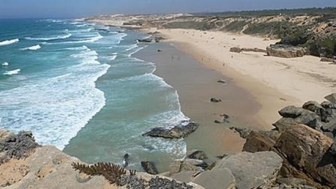 Secretário de Estado do Ambiente visita praias de Odemira
