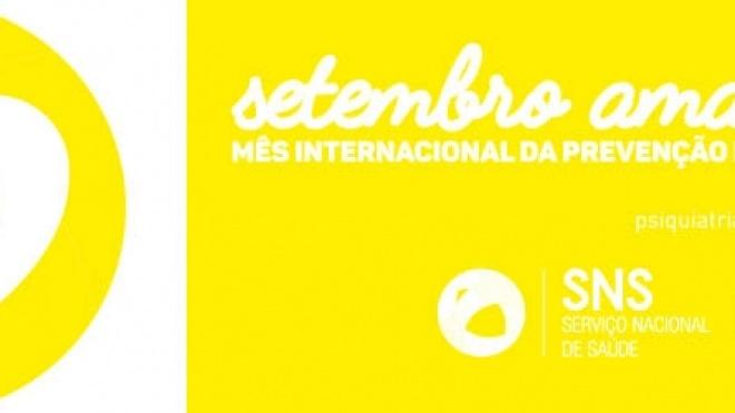 Beja primeira cidade do país a integrar campanha setembro amarelo