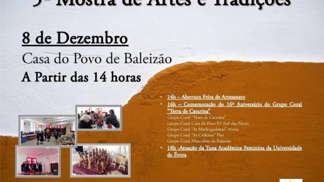 5ª Mostra de Artes e Tradições de Baleizão