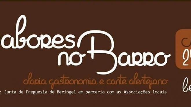 """""""Sabores do Barro"""" em Beringel"""