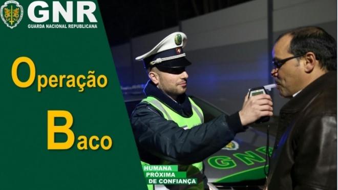 GNR fiscaliza condução sob o efeito do álcool