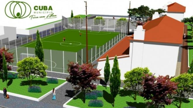 Inauguração do Parque Desportivo e de Lazer em Cuba