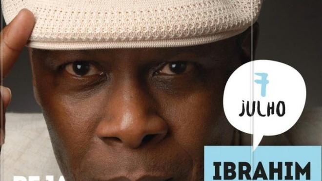 Ibrahim Ferrer Jr. atua hoje em Beja