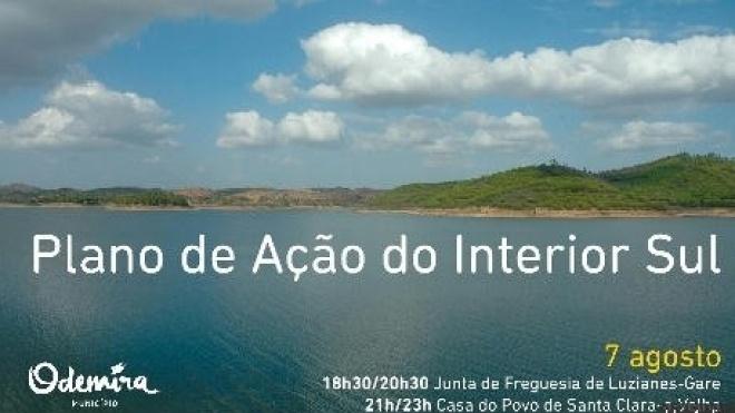 Odemira apresenta plano de acção para o interior sul