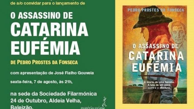 """Apresentação do livro """"O Assassino de Catarina Eufémia"""""""