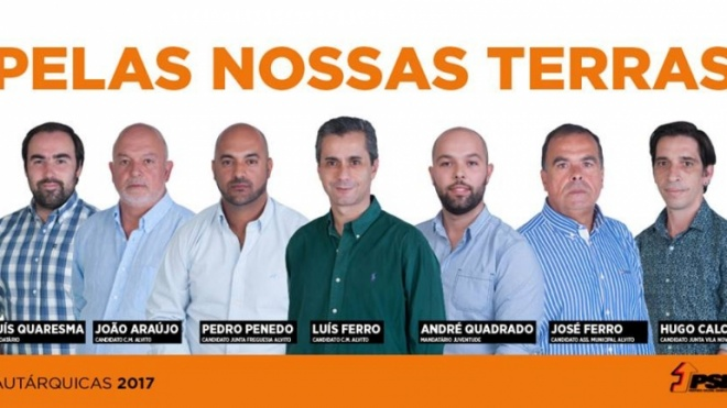 PSD apresenta listas de candidatos em Alvito