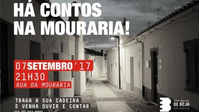 Hoje há contos na Mouraria em Beja