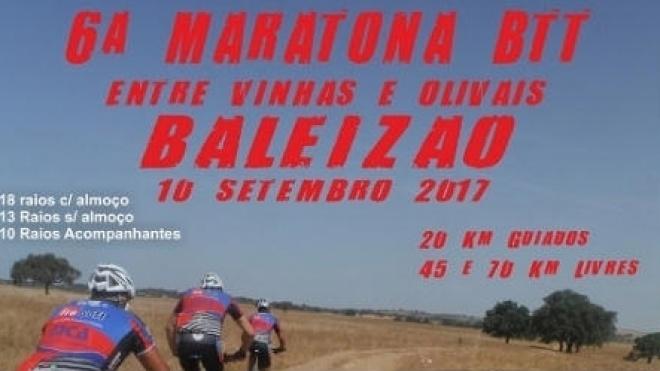 """6ª Maratona de BTT """"Entre vinhas e olivais"""" realiza-se hoje"""