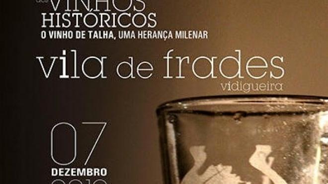 Vidigueira recebe I Congresso de Vinhos Históricos