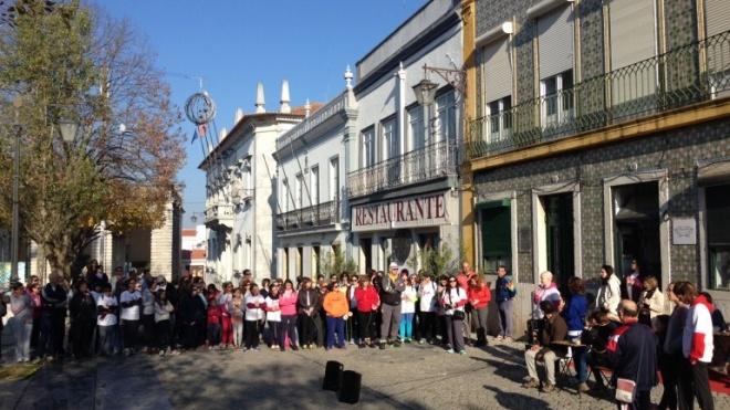 Caminhada solidária em Beja