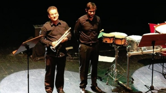 """2ª Temporada de concertos do CRBA encerra com """"Duo Trompete & Percussão"""""""