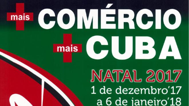 """""""+Comércio, + Cuba"""" dinamiza o comércio local"""
