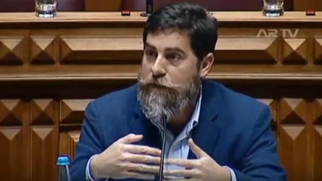 """João Ramos diz """"adeus"""" à Assembleia da República"""