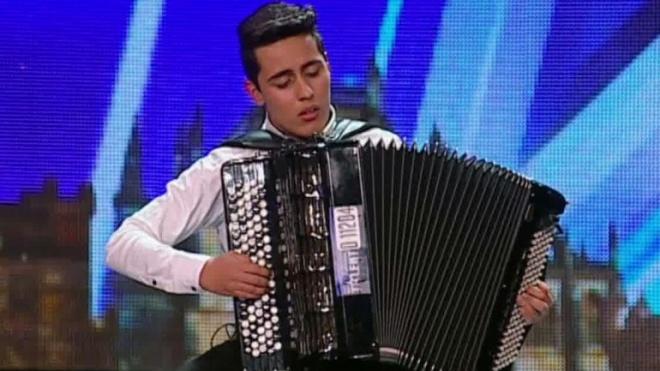 Francisco Monteiro na final do Got Talent Portugal