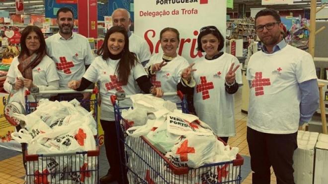 180 mil refeições recolhidas pela Cruz Vermelha e Missão Continente