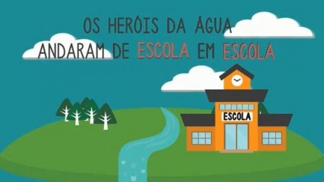 "Projecto ""Heróis da Água"" lança vídeo promocional"