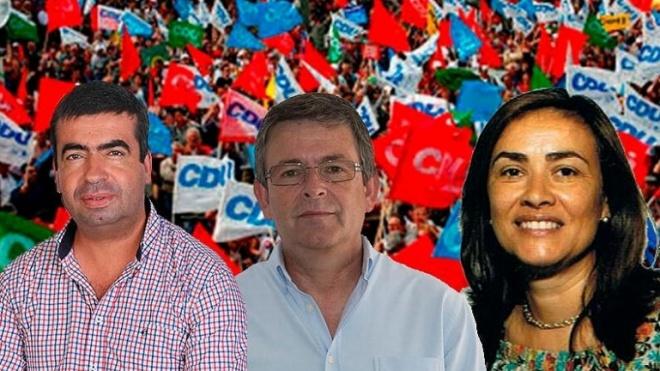 Mais três independentes na corrida às autárquicas pela CDU