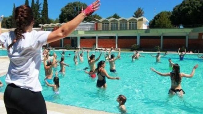Classes de verão na Piscina Municipal de Beja