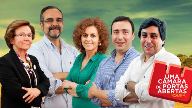 PS de Moura apresenta Programas Eleitorais na Feira de Setembro
