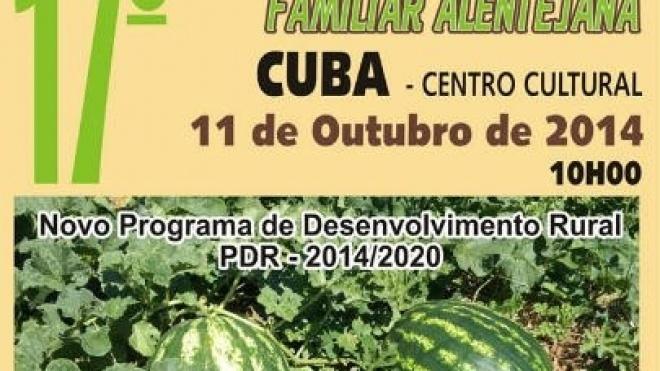 17º encontro de agricultura familiar alentejana em Cuba