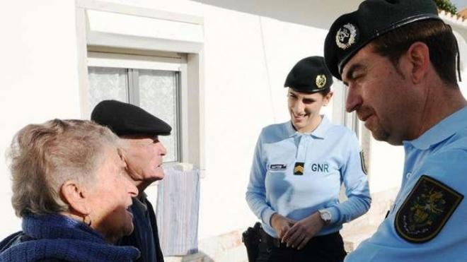 GNR com apoio especial a idosos durante a vaga de frio