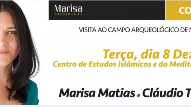 Marisa Matias está hoje em Mértola