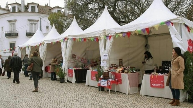 Mercado de Natal em Beja