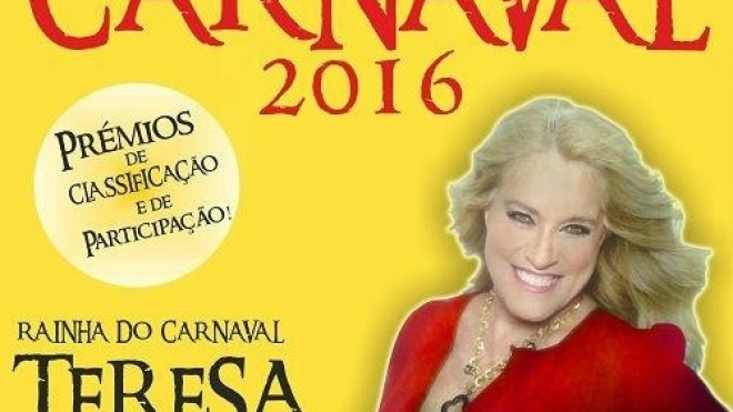 Teresa Guilherme é a Rainha do Carnaval de Almodôvar 2016