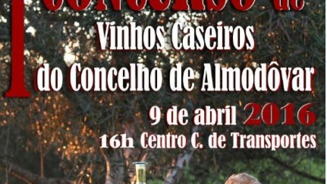 Almodôvar promove I Concurso de Vinhos Caseiros do concelho