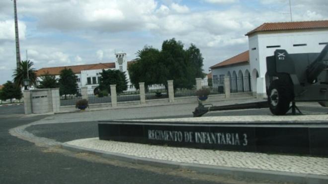 Cadetes da Academia Militar no RI3