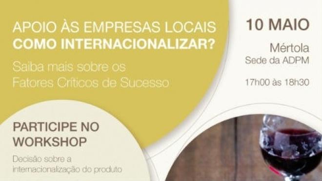 ADPM promove workshop sobre internacionalização de produtos